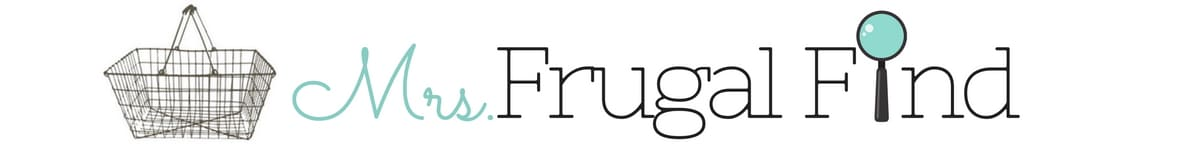 The Frugal Find – Save More. Give More. Live More. header image